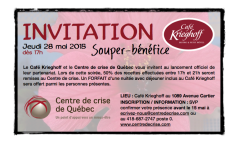 Invitation tour blanc