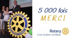 IMAGE ACTUALITÉ - Rotary Val-Bélair